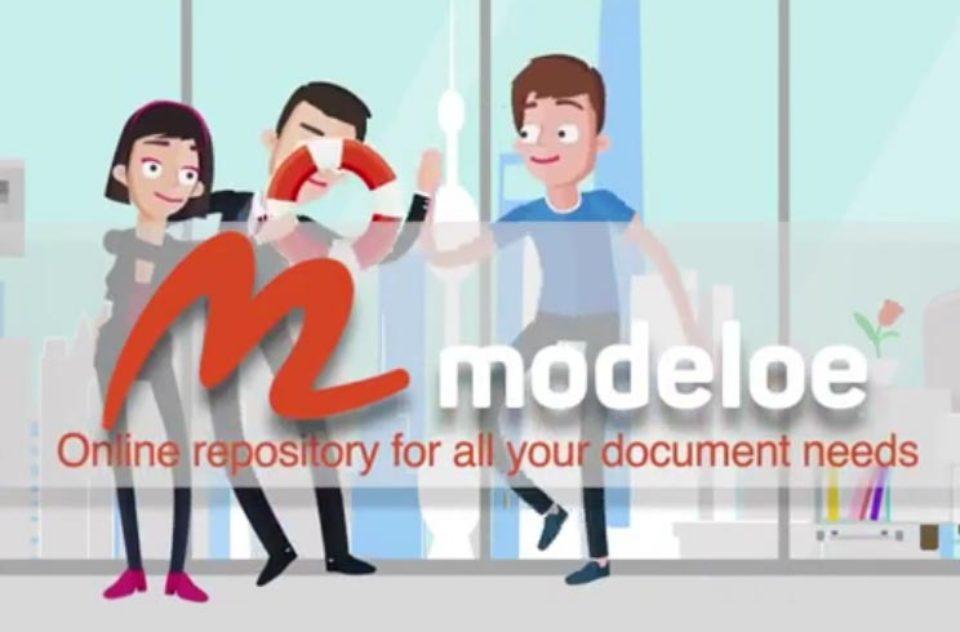 Modeloe Explainer Video – Document Template Marketplace